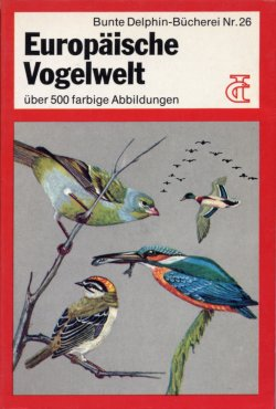 German Birds Of Europe Golden Guide
